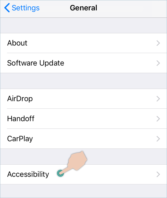 Accessing Accessibility in iOS