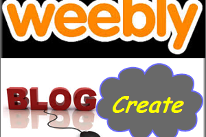 Create Weebly Blog