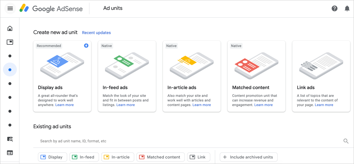 Types and Formats of Google AdSense Ads » WebNots