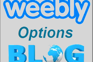 Weebly Blog Options