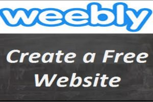 Create a Free Weebly Site