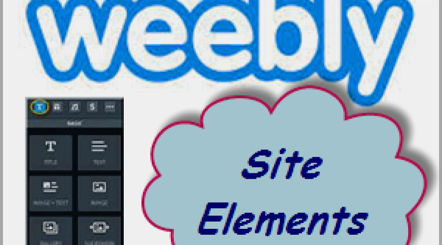 Learn Various Weebly Site Elements