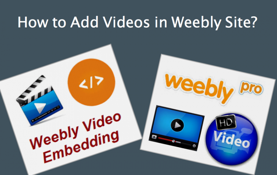 How to Add Videos in Weebly Site?