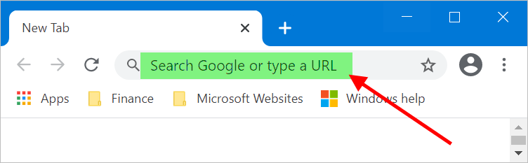 Chrome Address Bar