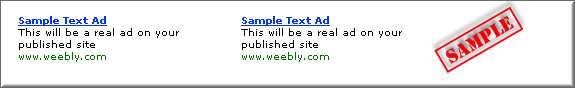 Sample Text Ads Before Approval