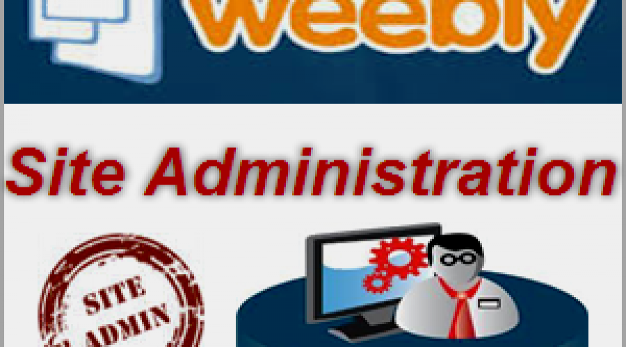 Weebly Site Administration Options
