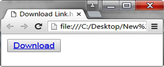 Download Button with Hyperlink