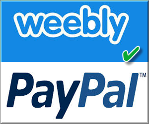Enable PayPal in Weebly
