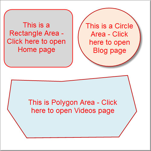HTML Image Map Example