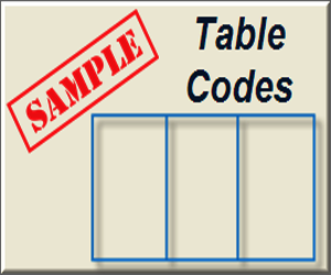Sample HTML Table Codes for Websites