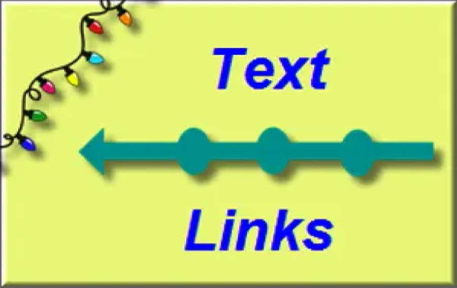 HTML Text Links Tutorial