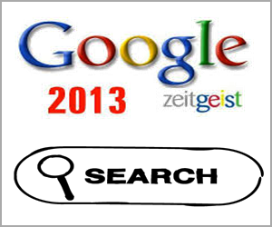 Most Searched Words in 2013 – Google Zeitgeist