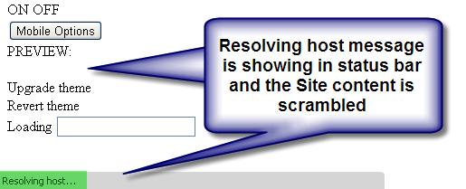 Resolving Host Issue in Chrome