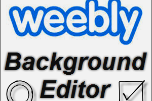 Weebly Background Editor