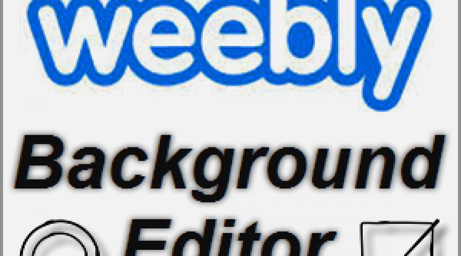 How to Edit Background Image in Weebly?