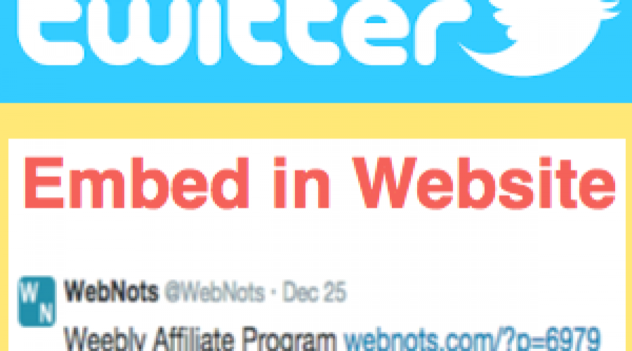 How to Embed Twitter Tweet and Timeline to Your Website?
