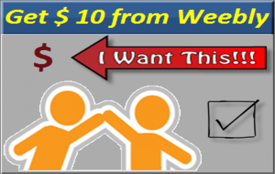 How to Get $10 Free Weebly Referral Commission