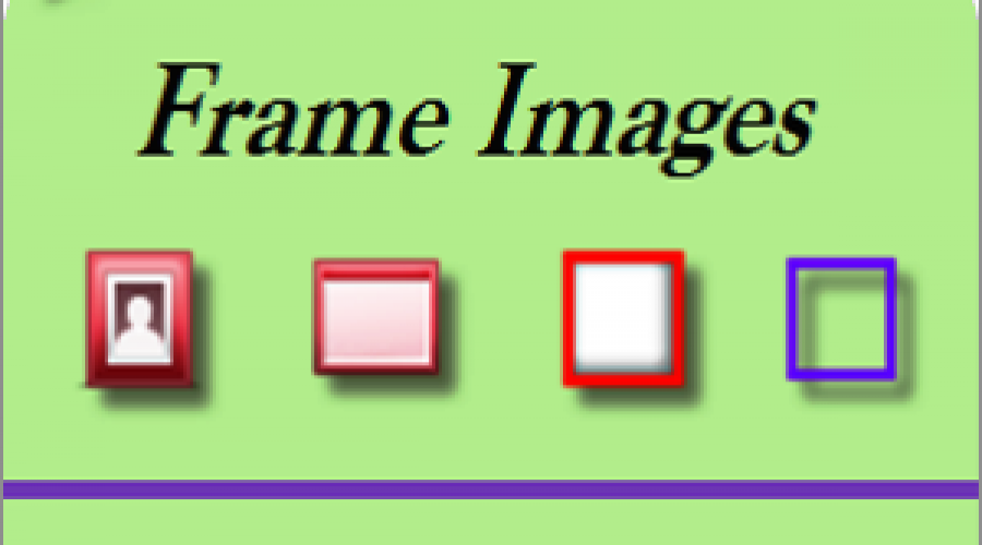 Download Free Frame Images for Websites