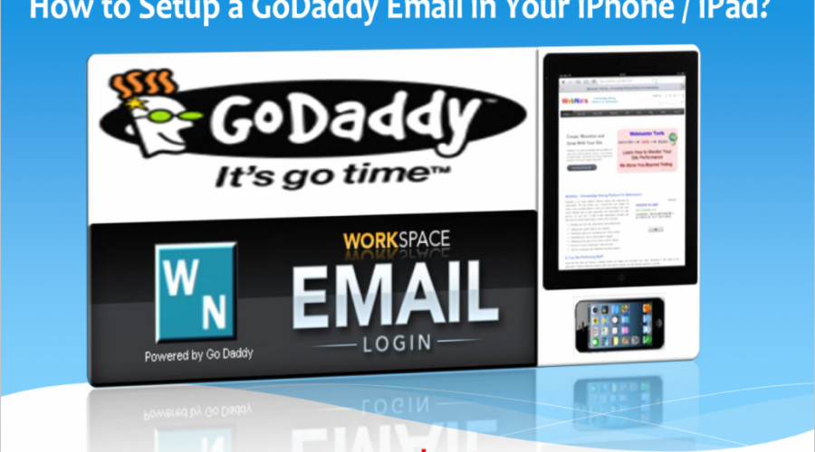 How to Setup GoDaddy Email in iPhone?