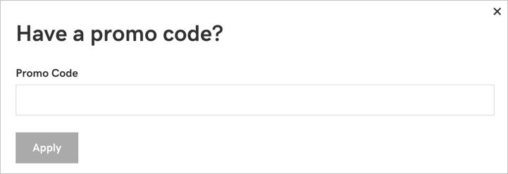 Применить код купона в GoDaddy