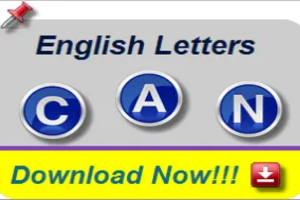 English Letter Images