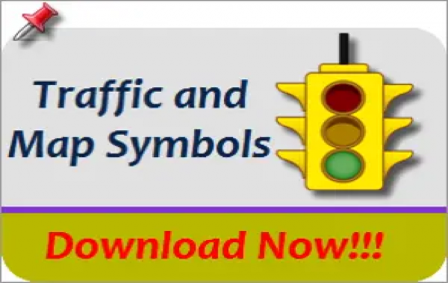 Traffic and Map Symbol Images