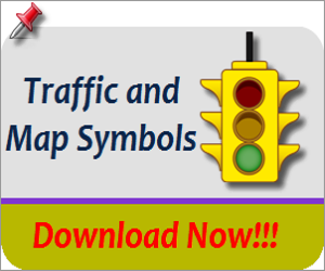 Download Free Traffic & Map Symbol Images