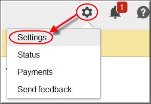 AdSense Settings