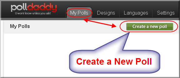 Creating a New Weebly Poll