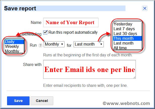 Customizing Email Trigger