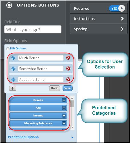 Customizing Weebly Multiple Form Option Fields