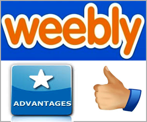 Weebly Advantages
