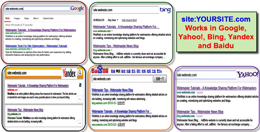 Оператор сайта работает во всех основных поисковых системах