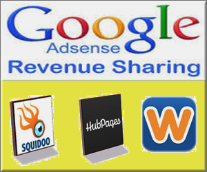 AdSense Revenue Sharing Sites