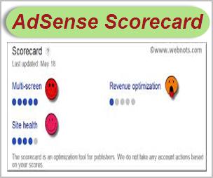 Revenue Optimization Using AdSense Scorecard