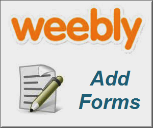 Add and Customize Contact Form in Weebly Site