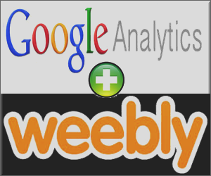 Add Google Analytics in Weebly