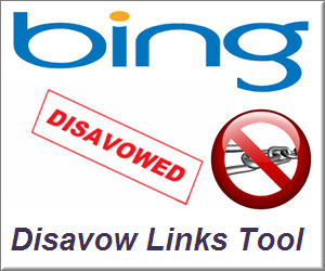 how to use disavow tool