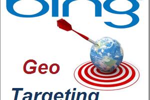 Bing Geo Target Settings
