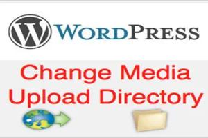 Change Default Media Uploads Folder in WordPress