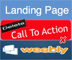 Delete Call To Action Button From Weebly Landing Page