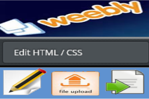 Edit Source HTML and CSS in Weebly