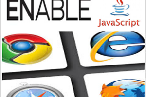 Enable JavaScript in Browsers