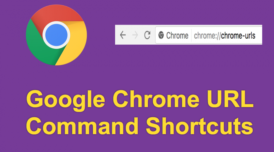 List of Google Chrome URL Command Shortcuts