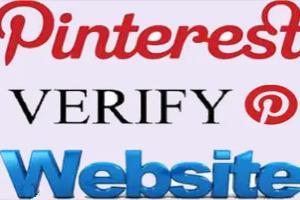 Verify Site with Pinterest