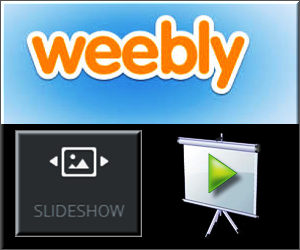 Weebly Slideshow Element