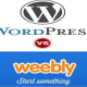 Comparison of Weebly Vs WordPress Platforms