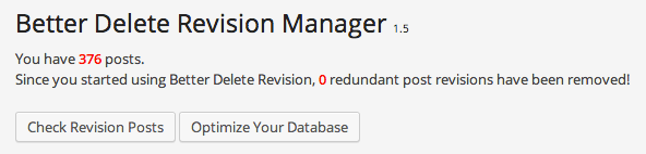 Better Delete Revisions Manager