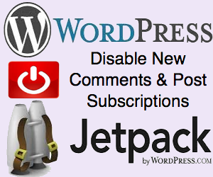 How to Disable Jetpack Comments Notifications in WordPress?
