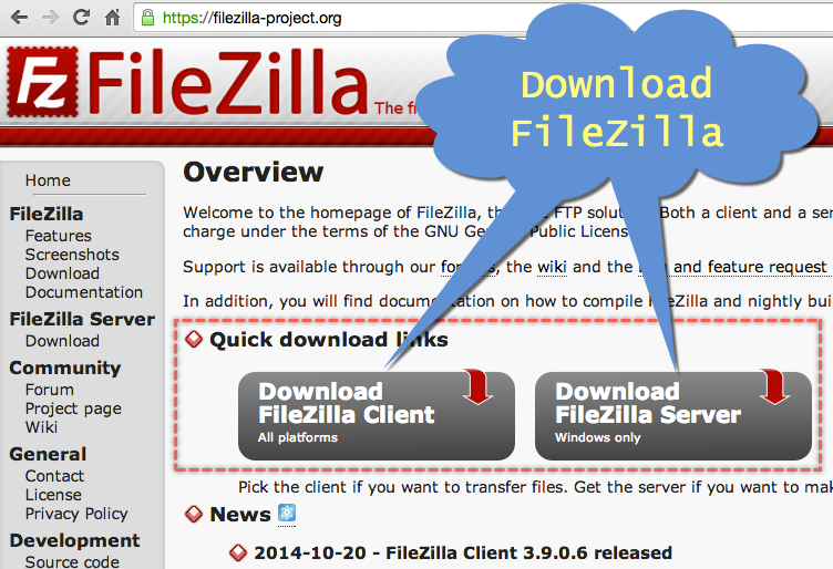 filezilla bluehost